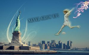 Wallpaper Taylor New York by AnnieSerrano