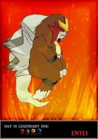 Day 19 Entei by Jacklave