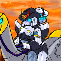 TF - PxJ A Noble Steed by plantman-exe