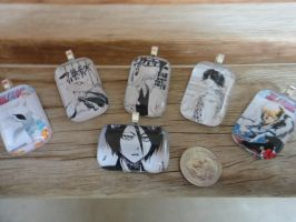 Bleach Pendants by Stargatesg11