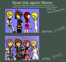 Before and After Meme by AnotherSasukeFan