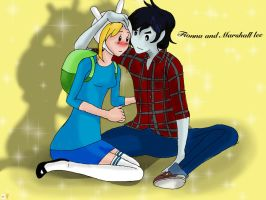 Fionna and Marshall lee gift by TheAngels-Wings