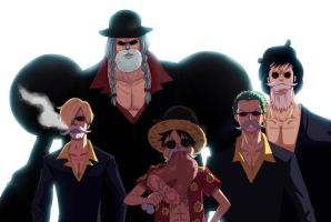 Bearded One Piece Collab by aConst