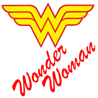 Wonder Woman Logo Icon by mahesh69a