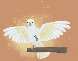sulfur-crested Cockatoo by PaperLemon