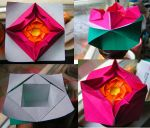 Origami flower box by Ivy-Juniper