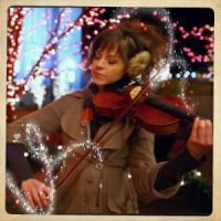 19 Silent Night Lindsey Stirling by SeraphSirius