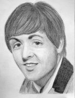 Paul McCartney by PMucks