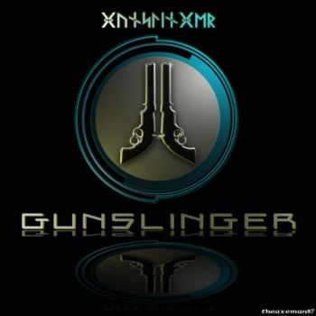 Too Human Character Logo - Gunslinger by theaxeman87