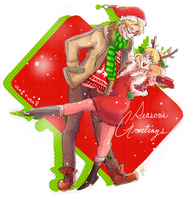APH: Season's Greetings!! by bowlersandtophats