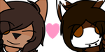 Commission // Greg and Nicki Icons by UItraviolent
