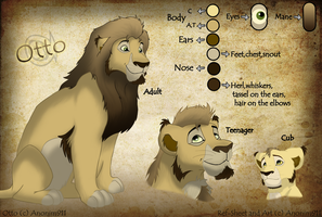 Otto ref sheet by Anonim911
