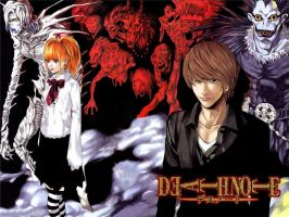 Death Note Wallpaper by overfiend0a