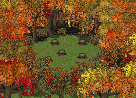 Fall Trees (Modified Large Tree Patch) by AnScathMarcach