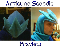 PREVIEW Articuno Scoodie by SPPlushies