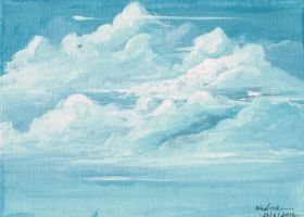 Clouds- study by JaZz-oR