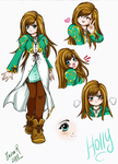 OC: Holly color base by Rolly-Chan