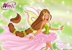 Flora Harmonix. Wallpaper. by LaminaNati