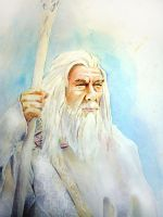 Gandalf the White by MikeKretz