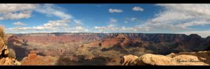 The Grand Canyon, Panorama by sicmentale