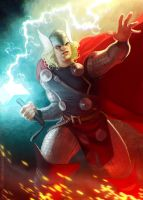 God Of Thunder by Mancomb-Seepwood