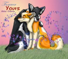 Forever Yours - Akita Trade by Kesomon