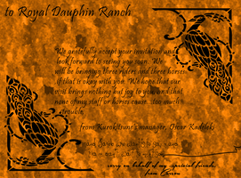 Royal Dauphin Ranch Reply by 4TheLoveOfAnimation