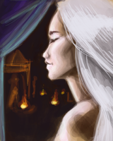 Speedpaint of Dany by AgarthanGuide