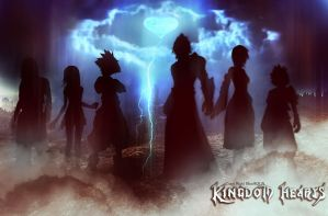 kingdom hearts wallpaper by blueaqua77