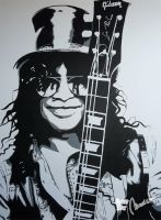 Slash: Painting from hell by Jovigirl666