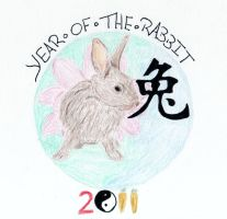 Year of the Rabbit by H3llzAng3l