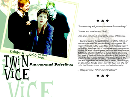 HP: Twin Vice Wallpaper by Weasley-Detectives