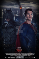 World's Finest (FAN-MADE) Poster by DiamondDesignHD