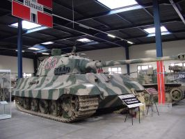 King Tiger German heavy tank by Captain-Sweden