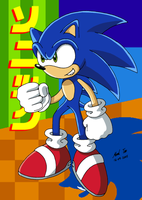 Sonic by Rapid-the-Hedgehog
