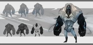 concept of  golem by sheer-madness