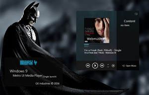 Metro UI Media Player Mark 4 by RMNSkin