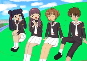 Carcaptor Sakura : Quality Time with Friends. by MagatsuReinami