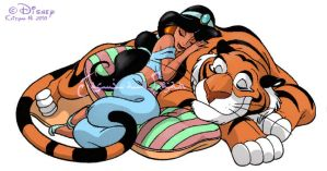 1. Jasmin and Rajah by chocolatecherry