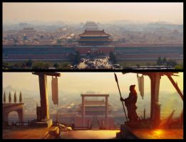 Forbidden-city by Flaskpost