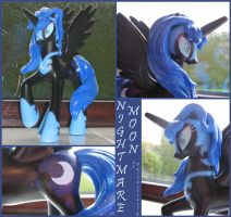 Custom Nightmare Moon by FallSilently