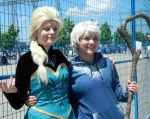 Anime North 2014: Jack Frost and Elsa by Kateex0