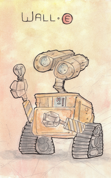 Wall E by justincurrie