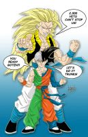 Fusion- Goten and Trunks by DamageArts