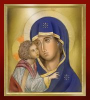 Mary Icon Coloured by dashinvaine
