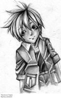 ORIGINAL - Boy Pencil Sketch by pinkuz