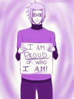 Proud of Who I Am by Juuria66