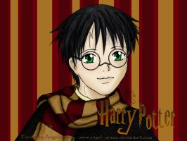Harry Potter Wallpaper Collor by Angel--Arwen