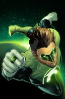 Deviation 56-Green Lantern by FrankDa