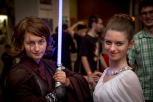 CS'13 - Star Wars - Anakin and Leia by Hermy46